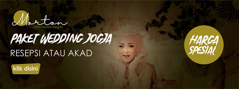 paket wedding jogja morton
